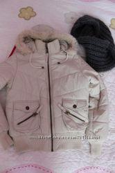 Куртка Италия у подарунок хомут шарф