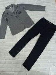Трикотажный пиджак для мальчика фирмы Breeze размер 9 лет, рост 134