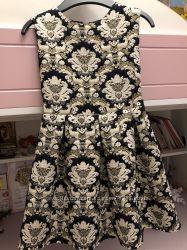 Шикарное платье 128 рост