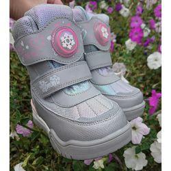 Термо черевики ТОМ. М для дівчаток в наявності