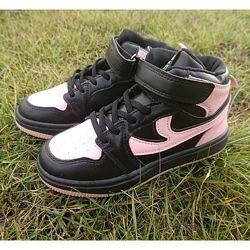 Модні демісезонні хайтопи, черевики для дівчаток - Хіт сезону