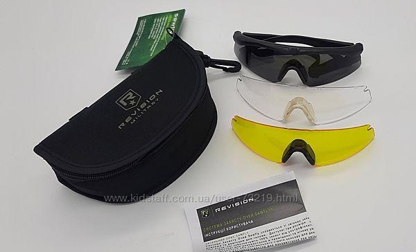 Баллистические противоосколочные очки Revision Sawfly Dlx. Оригинал.