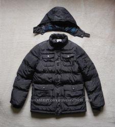 Зимняя куртка пуховик для мальчика B&Q Kids Польша, на рост 152 см