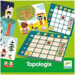 Topologix от Djeco  изучаем положение предмета в пространстве