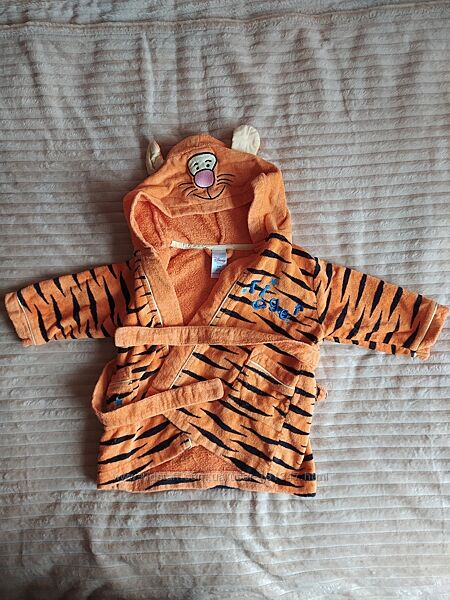 Халат тигр 6-12 міс