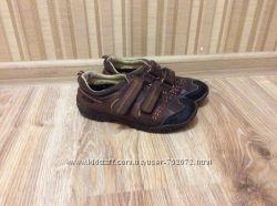 кожаные утепленные туфли UMI
