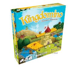 Настольная игра Kingdomino. Доміношне королівство