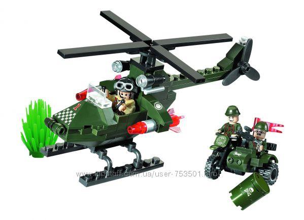 Конструктор Brick Вертолет 119 дет.