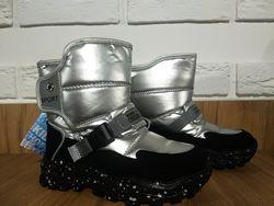 Детские термо-сапоги Weestep с натур. шерстью для девочки размер 27-32 Киев