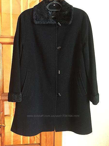 Пальто кашемировое батал