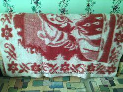 Детское одеяло шерстяное 156 см Х 100 см