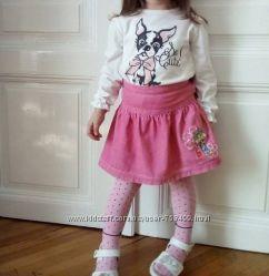 Красивая блузочка на манжетах Wojcik 98 с собачкой
