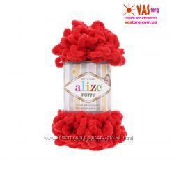 пряжа плюшевая для вязания руками Alize Puffy 47 грн швейная