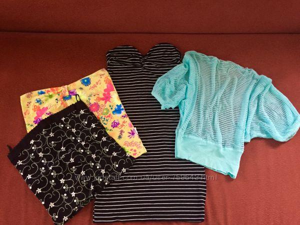 Пакетом Топы, майки, кофты, сарафан, платье