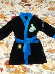 Махровый халат на мальчика 4-5 лет