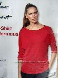 Яркая красивая блуза, рукав 34 от дизайнера steffen schraut