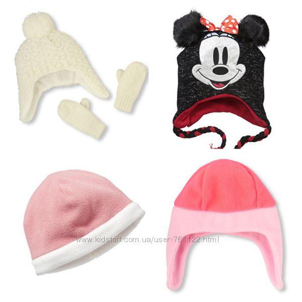 Новые яркие флисовые шапки Childrens Place 2T-3T