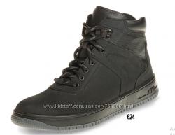 Мужские кожаные зимние ботинки ТМ Мида 14282624