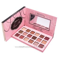 Тени Beauty Creations Tease Me eyeshadow palette 18 оттенков, палитра теней