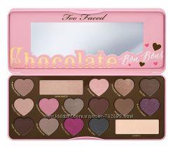 Палетка теней Too Faced Chocolate Bon Bons, тени для век, палитра теней
