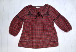 Рубашка, блузка в стиле вышиванки, Rocha John Rocha, размер 10