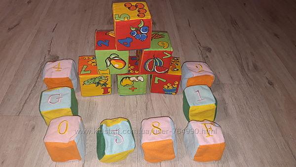 Кубики мягкие сортер