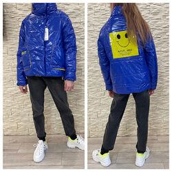 Стильные весенние курточки на девочек. Акционная цена