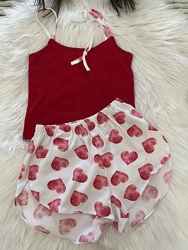 Стильные яркие пижамы для девочек рост 134-164