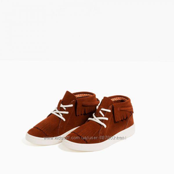 Стильные ботиночки Zara 28 размер в идеале .