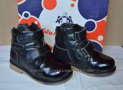 Зимние кожаные ботинки Шалунишка р. 27