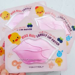 Патчи для губ Kiss kiss Lovely lip patch Tony Moly