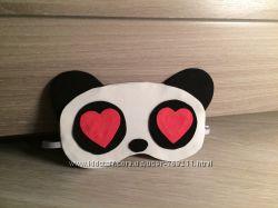 Маска панда для сна