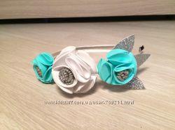 Ободки и венки для девочек на голову из фоамирана и фетра