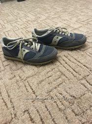 Синие кроссовки saucony jazz d1249f26710b8