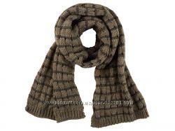 Теплая вязаная шаль шарф  Esmara. 170х30