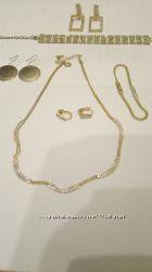 Комплекты Колье, браслет, серьги, подвеска