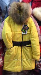 Зимнее пальто для девочки Kiko 2956 размер 134-164