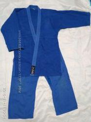 Кимоно для джиу-джитсу синее, на рост 160-170 см.