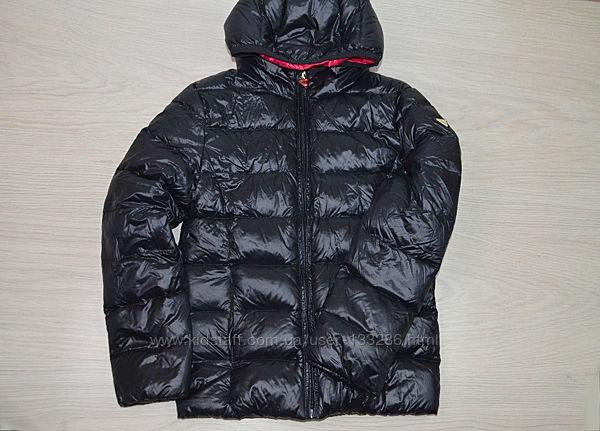 Очень круые деми куртки на девочку 7-9 лет, пух Италия