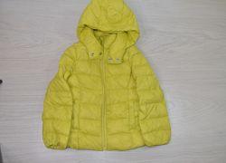 Куртки деми на девочку 5-7 л, бренды