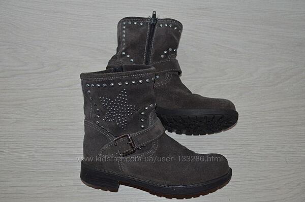 Обувь деми на девочку фирменная, ботинки р.31,33,34,35