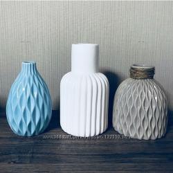 Керамическая ваза. 3 шт.