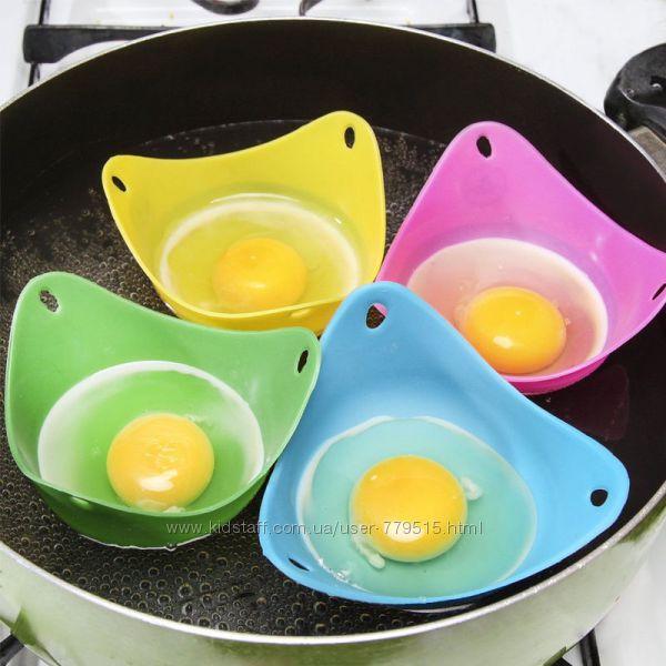 Силиконовая форма для варки яиц Пашот.