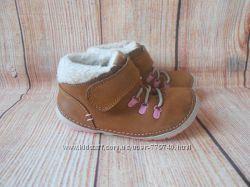 14см-21р Clarks ботинки кожаные на девочку арт. 3189