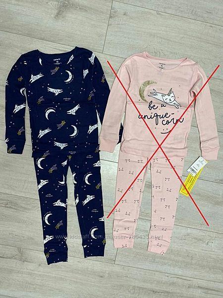 Пижама Carters США Картерс для девочек на 4Т