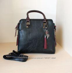 красивые сумки с брелком-кошкой три цвета