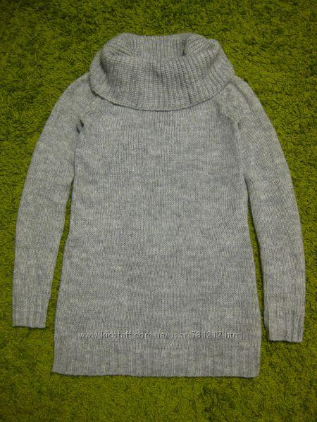 Удлинённый свитер H&M S-M р.