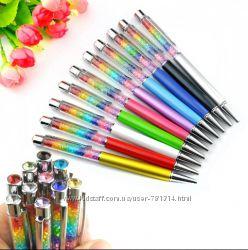 Шариковая ручка, с кристаллами Swarovski Сваровски - Звездная пыль, радуга