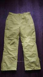 Лыжные брюки штаны лимонного цвета Mountain warehouse