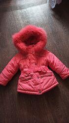 Зимняя куртка Donilo девочке р.86-98